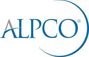 ALPCO blue gray logo