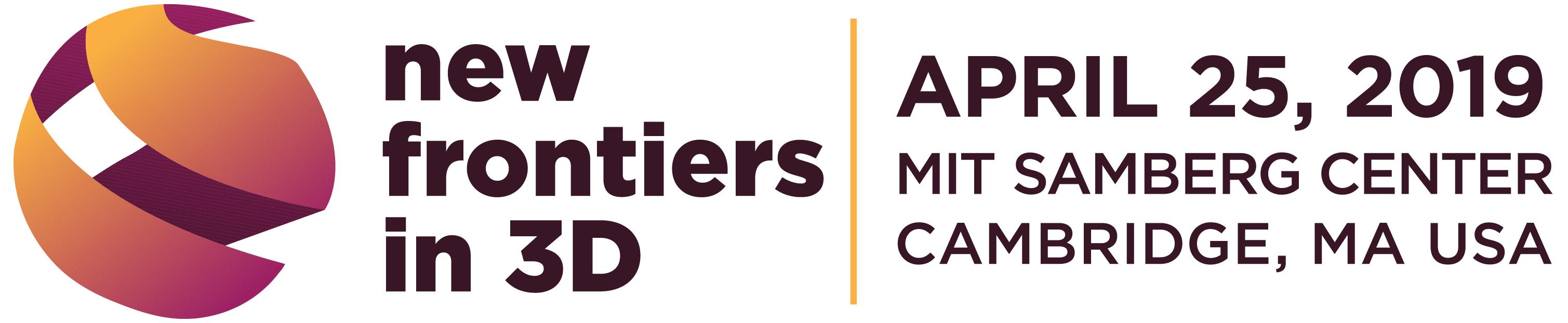 New Frontiers in 3D logo